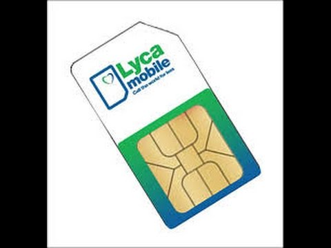 How To Activate Lyca Mobile Sim Cards
