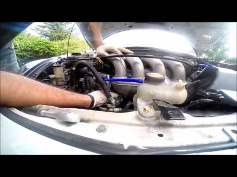 How to replace THERMOSTAT in Toyota Celica VVTL-i