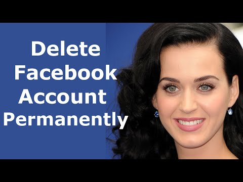 How to permanently delete facebook account - Delete Facebook account