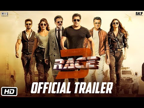 Race 3  Official Trailer  Salman Khan  Remo Dsouza  Releasing on 15th June 2018  Race3ThisEID