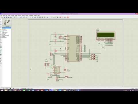 AT89c51 Microcontroller Mini Project School Bell Timer