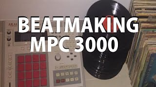 MAKING ANOTHER BEAT ON THE MPC 3000 (MARCH 2018) DJ ROCK CEE