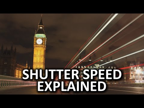 Shutter Speed As Fast As Possible