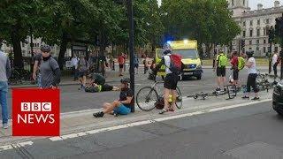 Westminster car crash: