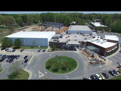 Latest Aerial Views of New Construction at the Orange County Sportsplex - Hillsborough, NC