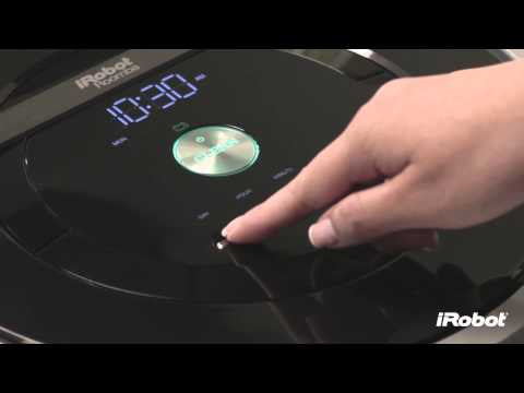 How to Delete a Schedule Roomba 800 Series