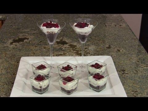 Chocolate Cherry Cha Cha Dessert by Designing Dishes