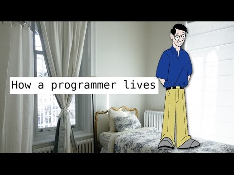 HOW A PROGRAMMER LIVES | MY APARTMENT