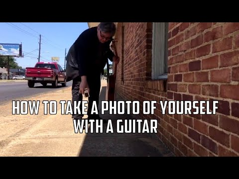 How To Take A Photo Of Yourself With A Guitar