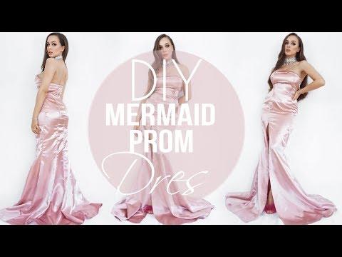 DIY mermaid PROM dress  | Tijana Arsenijevic