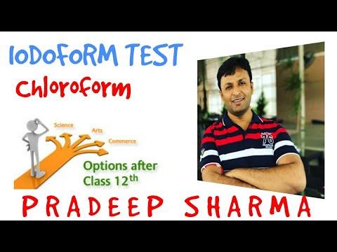 Iodoform Test , Chloroform , Haloform , Distinguishing Test for -OH , -CHO