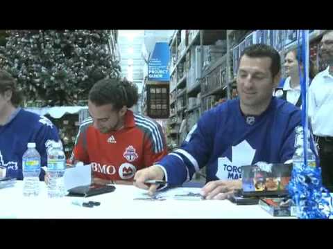 RONA / MLSE announcement in Whitby