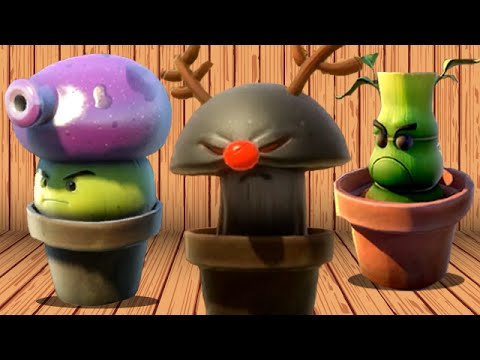 Plants vs. Zombies: Garden Warfare - Every Spawnable Plant!