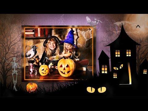 Halloween Slideshow Templates