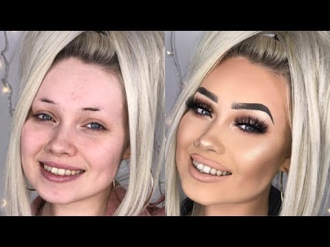 FULL COVERAGE FOUNDATION & FACE MAKEUP ROUTINE