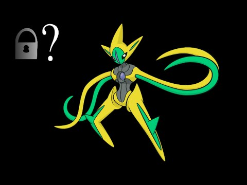 Regarding ORAS Deoxys [IT IS INDEED SHINY LOCKED!]