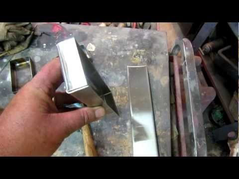 gas welding stainless steel Part one