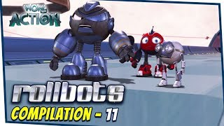 Rollbots In Hindi | Compilation 11 | Hindi Cartoons for Kids | Wow Kidz Action