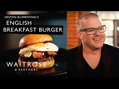 Heston Blumenthal's English Breakfast Burger   Waitrose