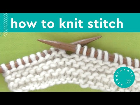 HOW TO KNIT STITCH ► Day 7 Absolute Beginner Knitting Series