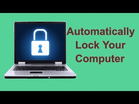 Automatically Lock Your Windows 7 Computer When You are Away