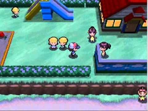 Pokemon white walkthrough part 8 - daycare todlers