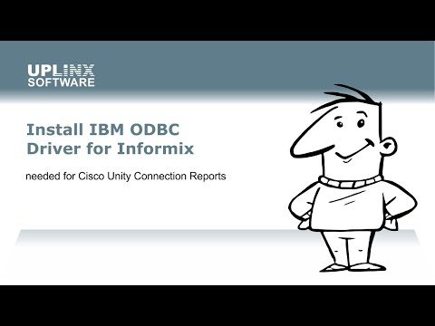 IBM ODBC driver install for Cisco Unity Connection CUC