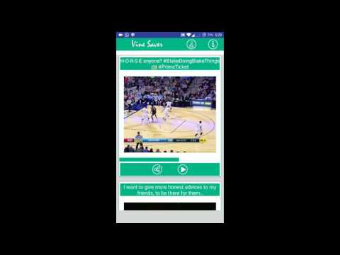 How to Download Videos from Vine ? - Vine Saver and Vine Downloader