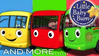 Download Wheels On The Bus +More Nursery Rhymes and Kids Songs | Baby Songs By Little Baby Bum LIVE Video