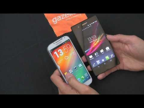 Sony Xperia Z vs. Samsung Galaxy S4 Review