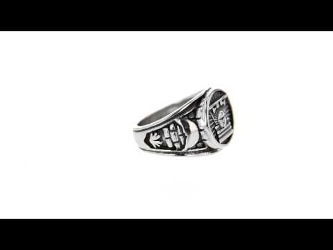 Sunstone Stainless Steel CTR Ring
