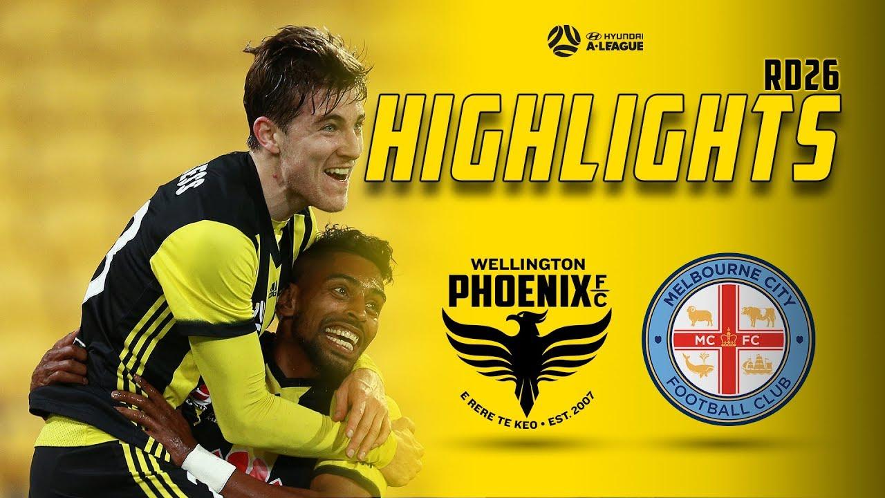 HIGHLIGHTS | Wellington Phoenix vs Melbourne City