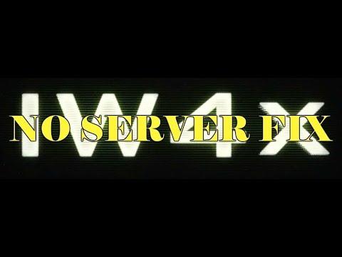 Call of Duty Modern Warfare 2 IW4X No Server Fix !2018!
