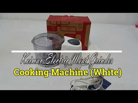 Keimav Electric Meat Grinder Cooking Machine (White)