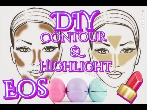 DIY Contour & Highlight EOS LIP BALM!!