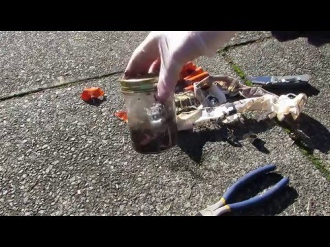 how to make lithium (household matials)