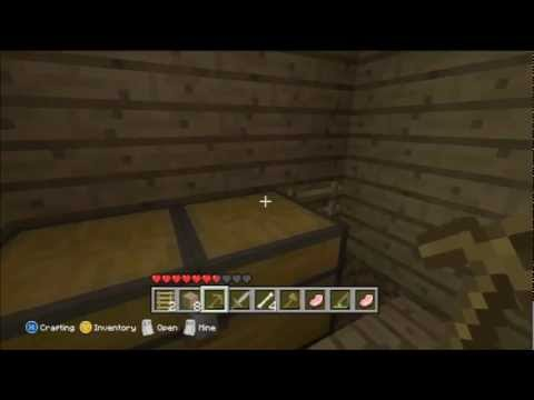 Minecraft for Xbox 360 Part 5 - Eggs, Chickens and Gravel.
