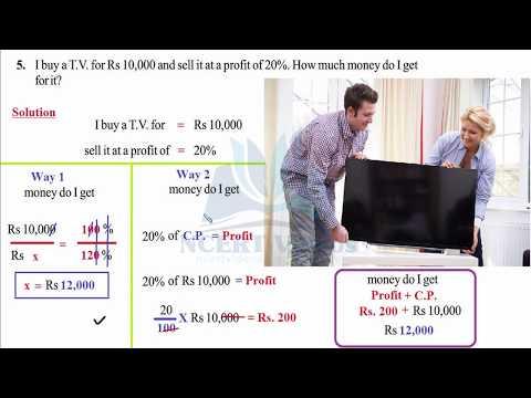 Comparing Quantities 8.3