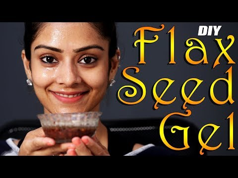 DIY | FlaxSeed Gel | Face Mask | Face Mask Tutorial | Face Pack | Skincare | Foxy Makeup Tutorials