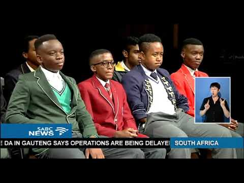 2017 matric top achievers gather in Johannesburg