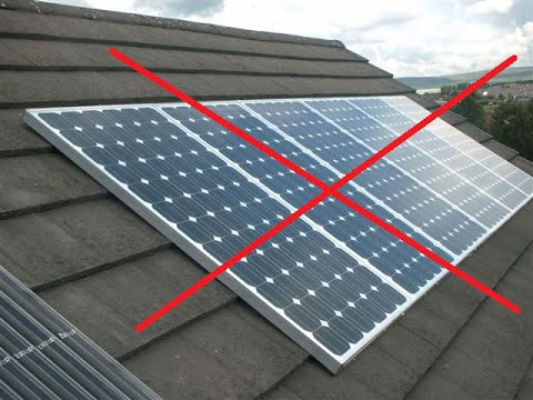Mounting your own solar panels??  You need to know this