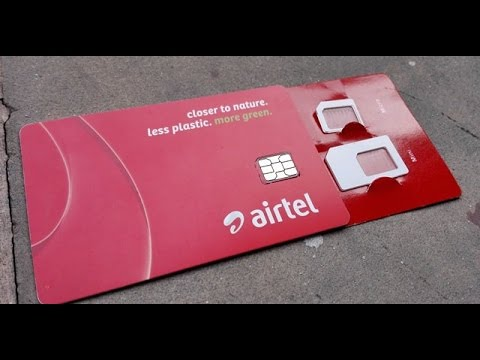 How to convert any sim into Airtel 4G sim to unlimited FREE data(4 JAN 2017)
