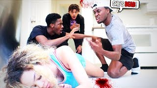 "I CRACKED A DINNER PLATE ON MY ""GIRLFRIENDS"" HEAD After this... PRANK GOT  CRAZY HEATED!"