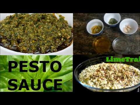 How to make Basil Pesto Sauce at home