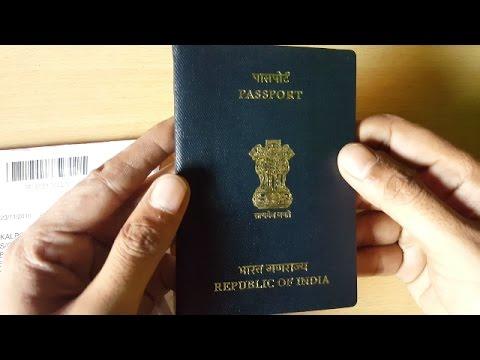 I got my Passport in 44 days / How Indian Passport look like / Indian Passport 2016