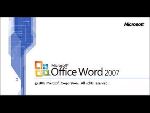 MS Word 2007 Product Key