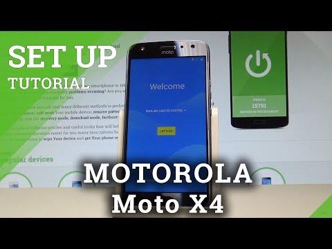 How to Set Up MOTOROLA Moto X4 - Android Activation & Configuration  HardReset.Info