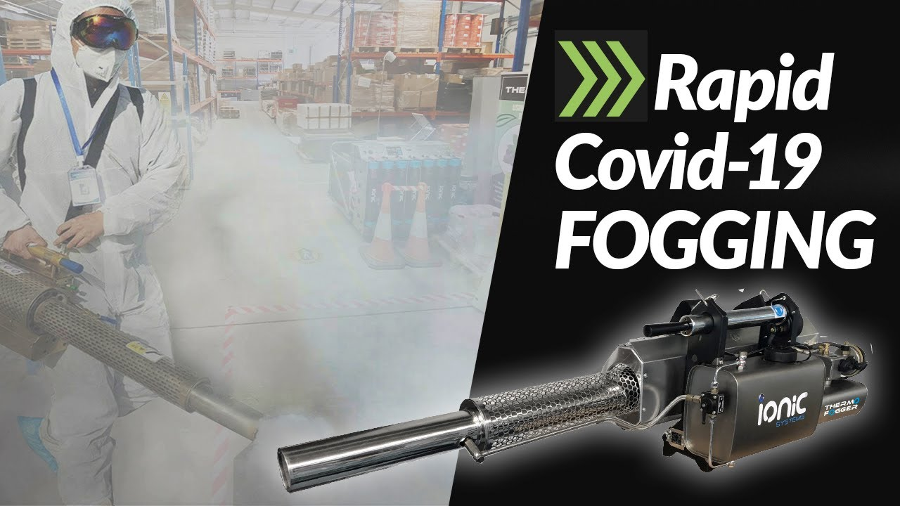 Thermal Fogger - Covid -19 Sanitisation disinfection fogging for internal and external surfaces