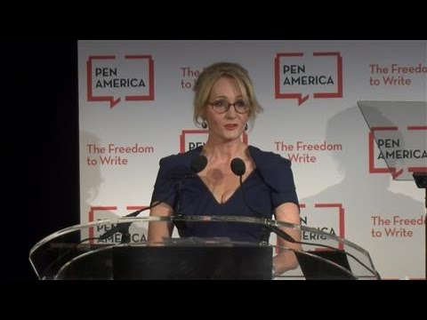 J.K. Rowling Criticizes Trump, but Defends His Freedom of Speech