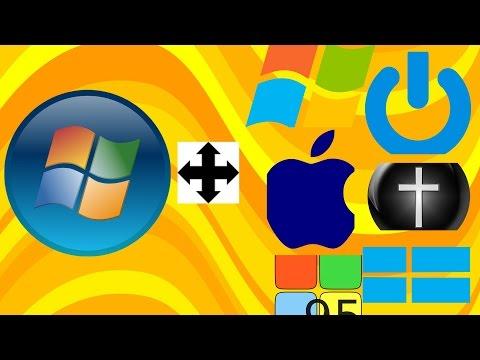 How To Change Windows 7 Startup Button in Orb Style(very Easy)